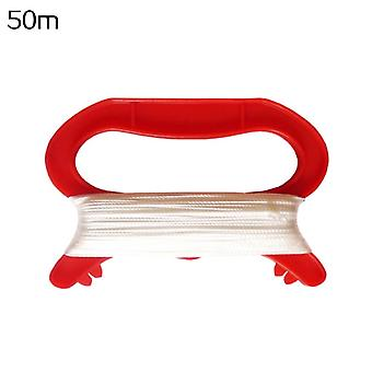 Rosso Forma Kite Kite Sottile Filo Winder Handle Outdoor Kites Flying Toys For Children Kids Control Bar And Line