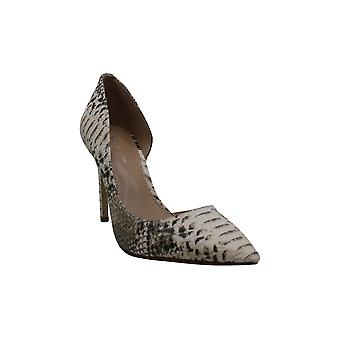 BCBG Women-apos;s Shoes 34BC1115-BRM Snakeskin Pointed Toe D-orsay Pompes