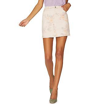 Sanctuaire | Mini jupe en denim à imprimé floral Ryan