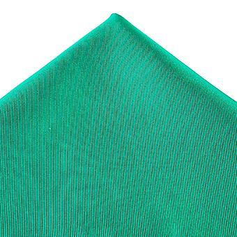 Kravaty Planet Plain Jade Zelená Hodvábne Vreckové námestie Vreckovka
