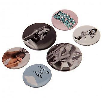 Ariana Grande Badge Set (6 kpl pakkaus)