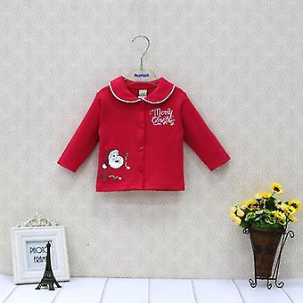 Baby Christmas Pure Cotton Newborn Long Sleeve Shirts- Kids Clothes Fashion And