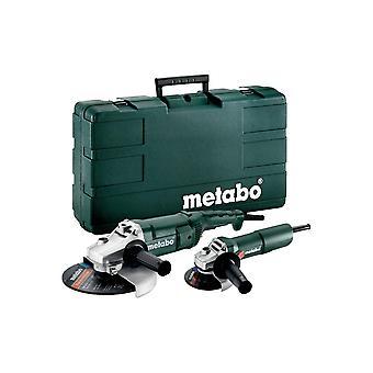 Metabo Angle Grinder Combo WP 2200-230 240V/W 750-115 240V+Carry Case