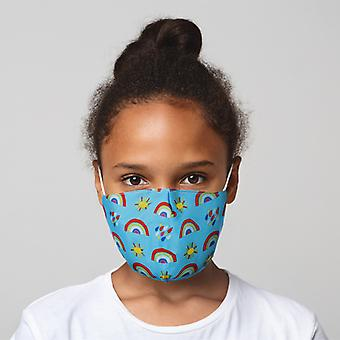 Rainbow Reusable Face Covering - Small X 1 Pack