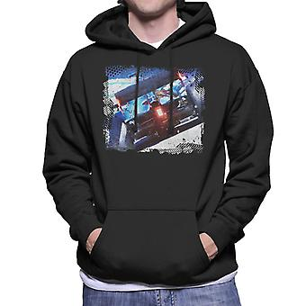 Motorsport Images Lewis Hamilton F1 W11 EQ Speeding Up Men's Hooded Sweatshirt
