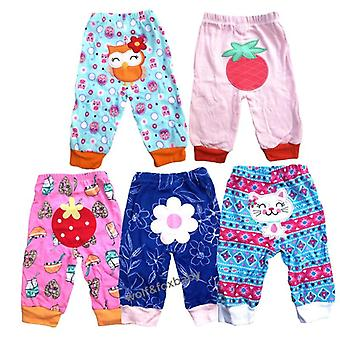 5pcs/pack 0-2years Pp Pants Trousers Baby Cartoonfor Clothing
