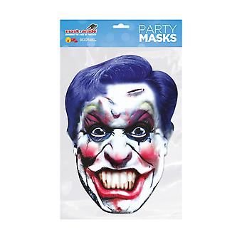 Mask-arade Clown Horror Party Face Mask