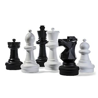 Rolly toys giant chess pieces for 3 years old black and white