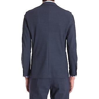 Traiano Tb05cotr10tflb Men's Blue Nylon Blazer