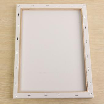 White Blank Square Artist Canvas Painting Drawing Wooden Frame For Primed Oil