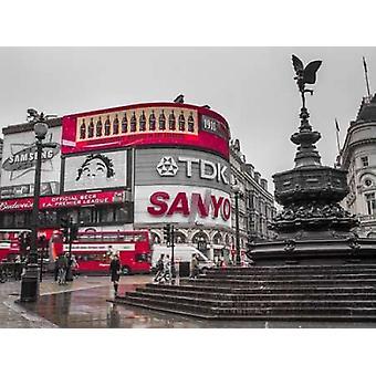 アサフ フランクでピカデリー サーカス ロンドン ポスター印刷