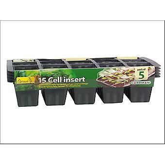 Gardman 15 Cell Insert x 5 08528