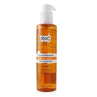ROC Multi Correxion Revive + Glow Gel Cleanser 177ml/6oz