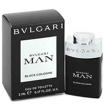 Bvlgari رجل أسود كولونيا من قبل Bvlgari ميني إدت .17 أوقية (رجال) V728-550808