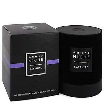 Armaf Niche Sapphire Eau De Parfum Spray By Armaf 3 oz Eau De Parfum Spray