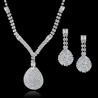 Wedding Jewellery Set-crystal Bridal Jewelry Sets, Long Tassel, Statement