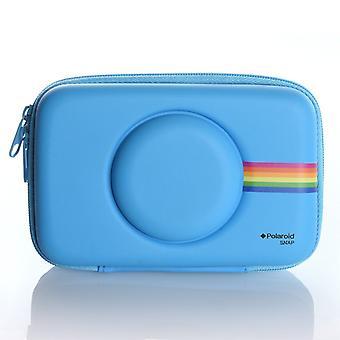 Polaroid eva sag snap & snap touch instant print digitalt kamera, blå enkelt