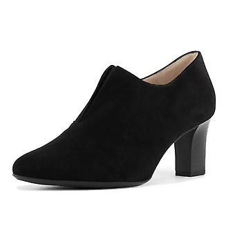 Peter Kaiser Miaka-a High Top Trouser Shoes In Black Suede