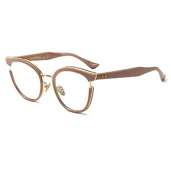 Women Cat Eye Glasses Frames Optical Fashion Metal Prescription Eyewear