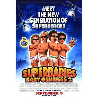 Superbabies Baby genier 2 film plakat Print (27 x 40)