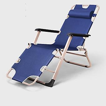 Home  Office Fishing Metal Modern Chairs, Folding Bed Siesta Bed Simple Siesta