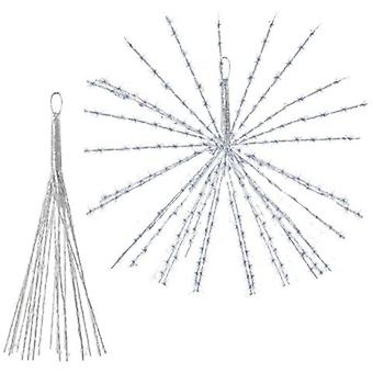 Dekorativ LED-belysning med 100 LED'er - 40 cm diameter udvidet