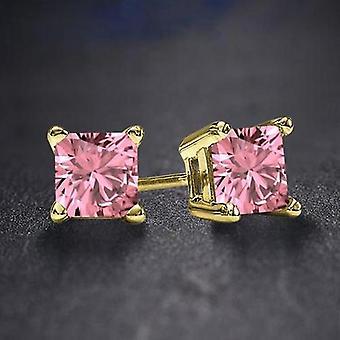 Palazo Pink Cz ørering | 9608433
