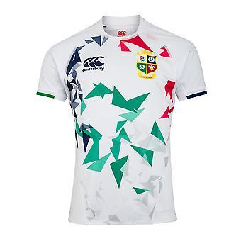 Canterbury Brittiska & Irish Lions Rugby Training Jersey | Mens | Vit | 2021