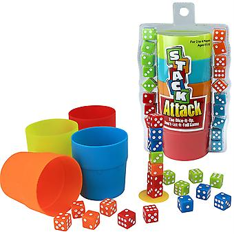Stack Attack The Dice-It-Up, Dont-Let-It-Fall Spiel