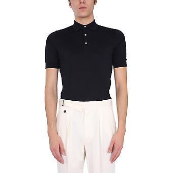 Lardini Ellpmc52850 Men's Blue Cotton Polo Shirt