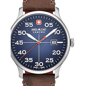Mens Watch Swiss Military Hanowa 06-4326.04.003, Quartz, 42mm, 5ATM