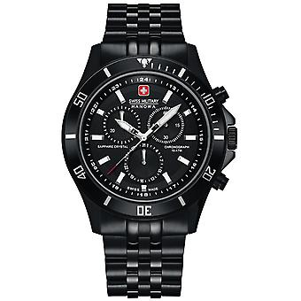 Mens Watch Swiss Military Hanowa 06-5331.13.007, Quartz, 43mm, 10ATM