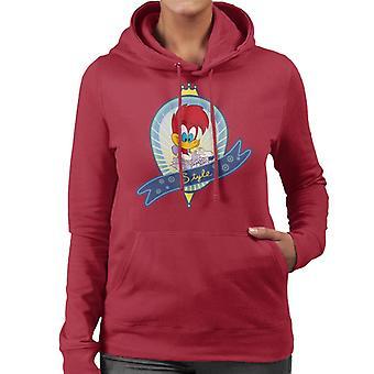 Woody Woodpecker Winnie Estilo Mujer's Sudadera con capucha