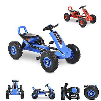 Moni Kids Gokart Drift Pedal Car, pneus pneumáticos infláveis, a partir de 3 anos