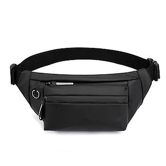 Impermeabile Uomo Waist Bag Fashion Chest Pack Outdoor Sports Crossbody Casual