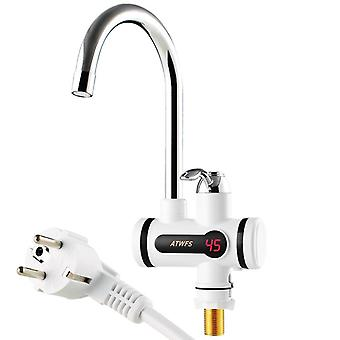 Electric Kitchen Water Heater Tap Instant Hot Water Faucet Heater, Cold Heating