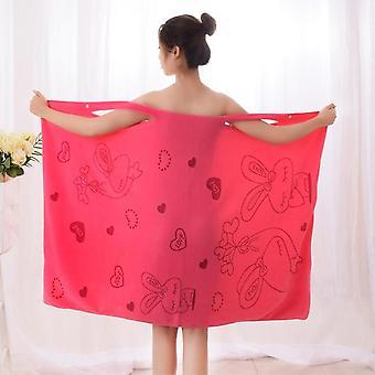 Women Quick Dry Magic Bathing Towel Spa Bathrobes Clothing Sexy Wearable
