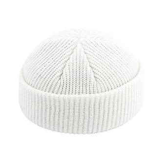 New Unisex Beanie Ribbed Knitted Cuffed Winter Warm Hat Skullcap For Adult Men