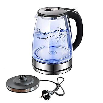 Glass electric kettle with water level gauge 1.7 liters