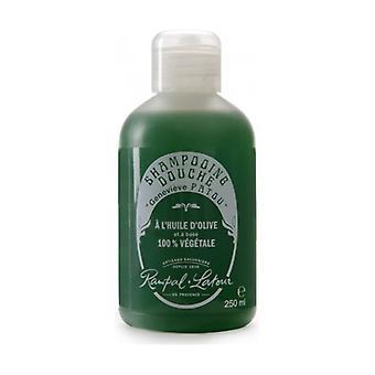 Shower shampoo with olive oil, fig-lavender scent 250 ml