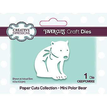 Creative Expressions Paper Cuts Collection Cutting Dies - Beary Christmas Mini