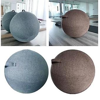 Yoga Ball Cover 65cm Pilates Sitting Ball Chair Dustproof Protector Slipcover