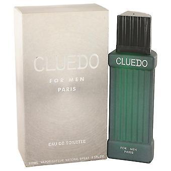 Cluedo Eau De Toilette Spray By Cluedo 3.3 oz Eau De Toilette Spray