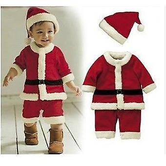 Christmas Santa Claus Costume- Long-sleeve, Winter Dress For &