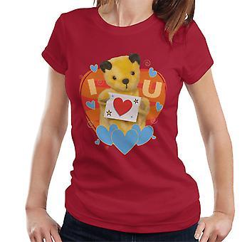 Noke I Heart You Valentines Women's T-paita