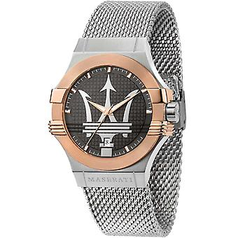 Mens Watch Maserati R8853108007, Kvarts, 42mm, 10ATM