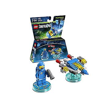 Lego dimensions fun pack  71214 benny and spaceship