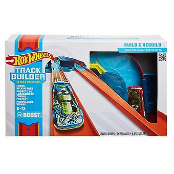 Hot wheels track builder curve kicker pack
