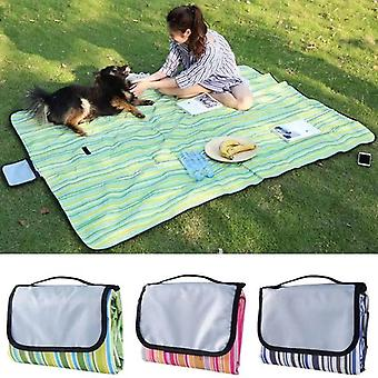 Outdoor Foldable Waterproof Picnic Mat Fashion Thicken Pad Breathable Soft Portable Camping Travel Beach Blanket