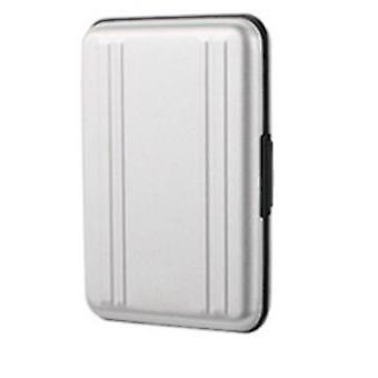 8SD + 8TF kortboks flerbruks aluminium minnekort reise oppbevaringsboks